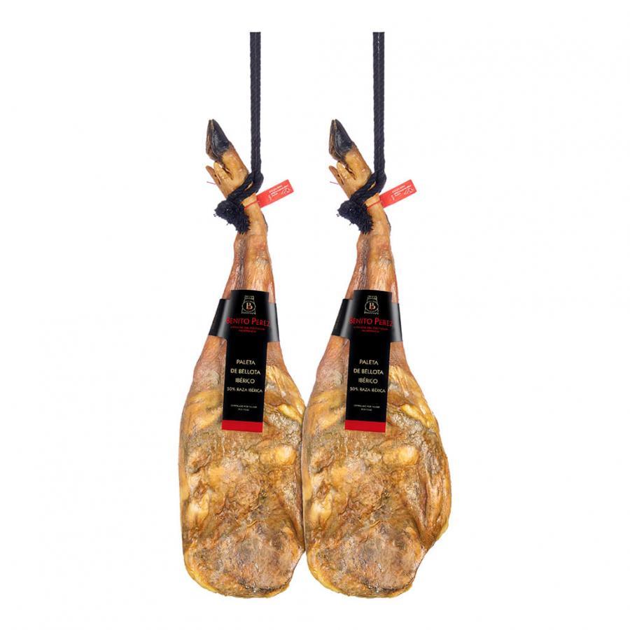 SALE! 2 Acorn-fed 50% Iberian Shoulder Hams