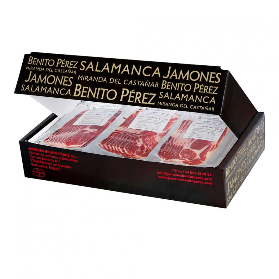 Cebo 50% Iberian Shoulder Ham Sliced (30X100g)
