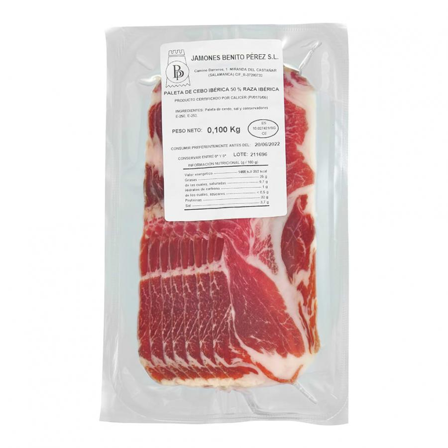 Cebo 50% Iberian Shoulder Ham Sliced (100g)